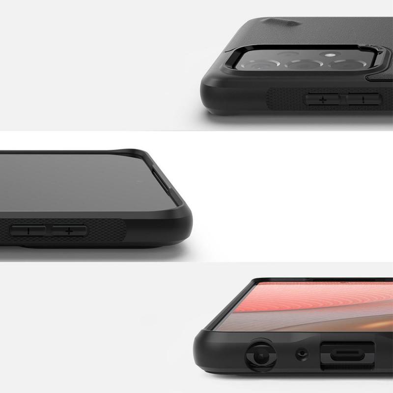 Husa Carcasa Spate Samsung Galaxy A52 4G / A52 5G - Ringke Onyx Design - Graffiti - 2