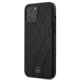 Husa Carcasa Spaste iPhone 12 / iPhone 12 Pro - Originala Mercedes - Wave Line  - 1