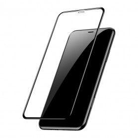 Folie Protectie Ecran pentru iPhone XS Max / iPhone 11 Pro Max - (6,5 inchi), Sticla securizata, Full 3D 0.33mm, Negru  - 1