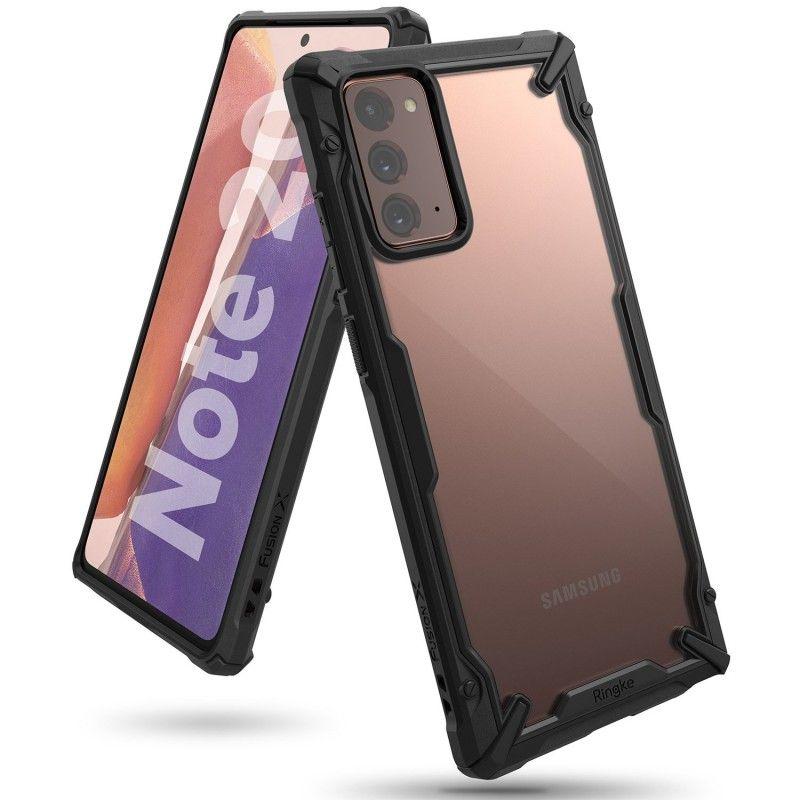 Husa Carcasa Spate pentru Samsung Galaxy Note 20 / Galaxy Note 20 5G - Ringke Fusion X, Neagra