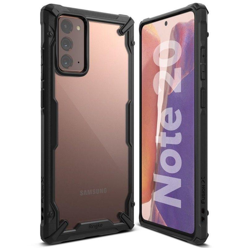 Husa Carcasa Spate pentru Samsung Galaxy Note 20 / Galaxy Note 20 5G - Ringke Fusion X, Neagra Ringke - 1