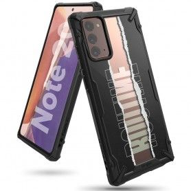 Husa Carcasa Spate pentru Samsung Galaxy Note 20 / Galaxy Note 20 5G - Ringke Fusion X Design Routine, Neagra Ringke - 1