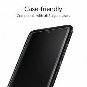 Folie Samsung Galaxy Note 20 Ultra - Spigen Neo Flex HD - Clear [ 2 bucati ] Spigen - 3