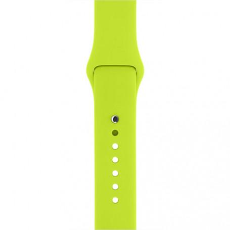Curea Sport, compatibila Apple Watch 1/2/3/4, Silicon, 42mm/44mm, Verde la pret imbatabile de 39,90LEI , intra pe PrimeShop.ro.ro si convinge-te singur