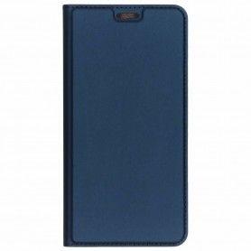 Husa Flip Tip Carte DuxDucis Skin Pro pentru Samsung S20 Ultra, Midnight Blue DuxDucis - 1