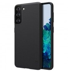 Husa Carcasa Spate pentru Samsung Galaxy S21 4G / Galaxy S21 5G - Nillkin Super Frosted Shield, Neagra Nillkin  - 1