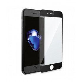 Folie Protectie Ecran pentru iPhone 6 Plus / 6S Plus, Sticla securizata, Full 3D 0.33mm, Negru  - 1