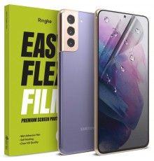 Folie Premium Full Cover Ringke Dual Easy Samsung Galaxy S21 4G / Galaxy S21 5G, transparenta, 2 Bucati Ringke - 1