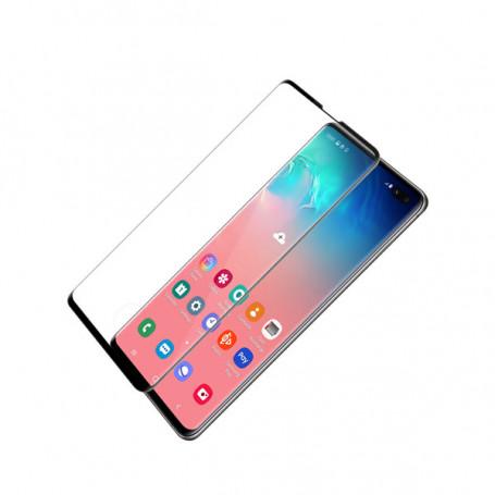 Folie Protectie Ecran pentru Samsung S10, Sticla securizata, Full 3D 0.24mm, Negru la pret imbatabile de 35,00LEI , intra pe PrimeShop.ro.ro si convinge-te singur