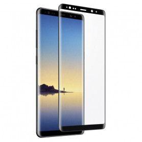 Folie Protectie Ecran pentru Samsung Note 8, Sticla securizata, Full 3D 0.33mm, Negru  - 1