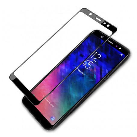 Folie Protectie Ecran pentru Samsung Galaxy A6 Plus (2018), Sticla securizata, 3D 0.33mm, Negru la pret imbatabile de 34,00LEI , intra pe PrimeShop.ro.ro si convinge-te singur
