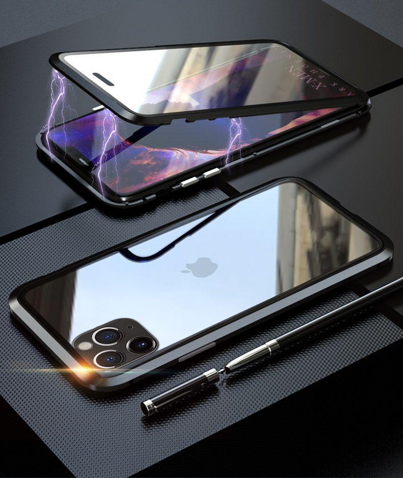 husa-magnetica-iphone-11-black-1