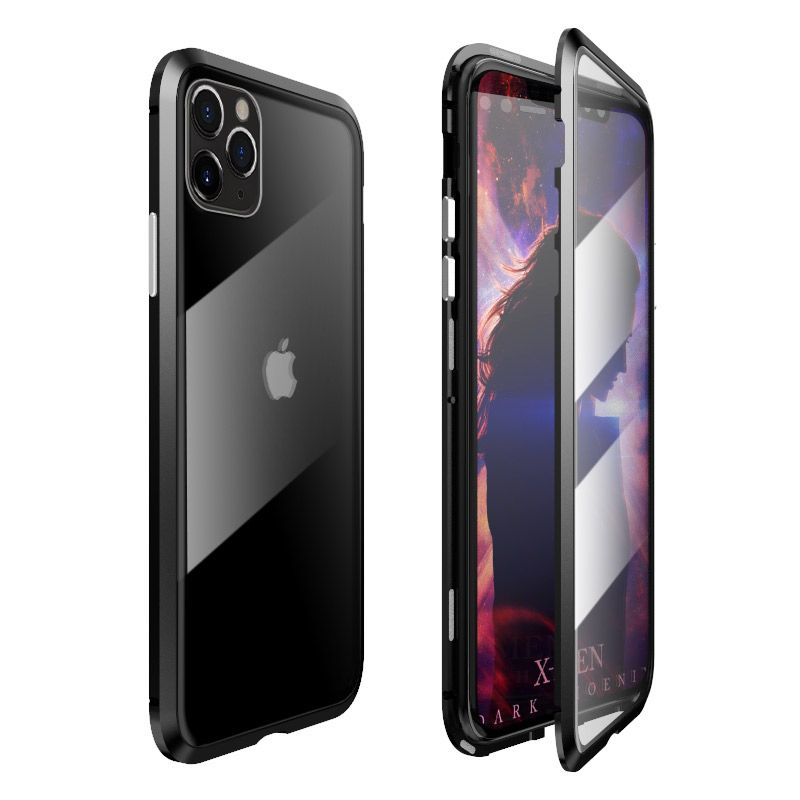 husa-magnetica-iphone-11-black-2