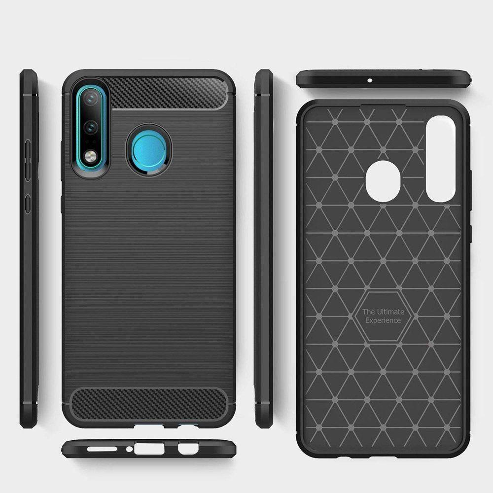 Husa Huawei P30 Lite - Tpu Carbon Black