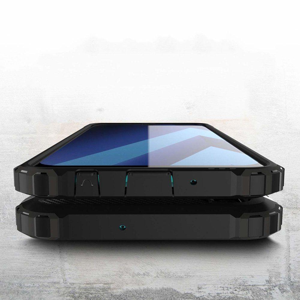 Husa Tpu Hybrid Armor pentru Samsung Galaxy A30s / A50 / A50s , Neagra