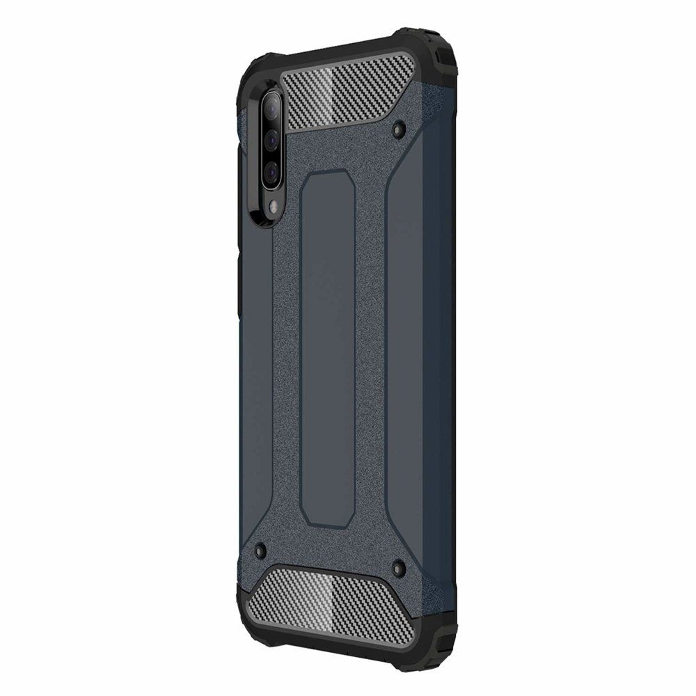 Husa Tpu Hybrid Armor pentru Samsung Galaxy A30s / A50 / A50s , Blue Navy