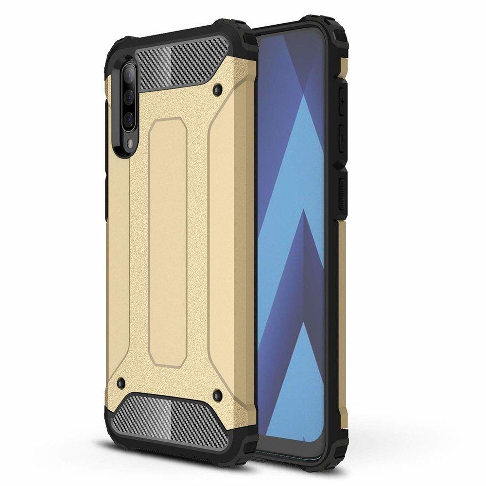 Husa Tpu Hybrid Armor pentru Samsung Galaxy A30s / A50 / A50s , Aurie