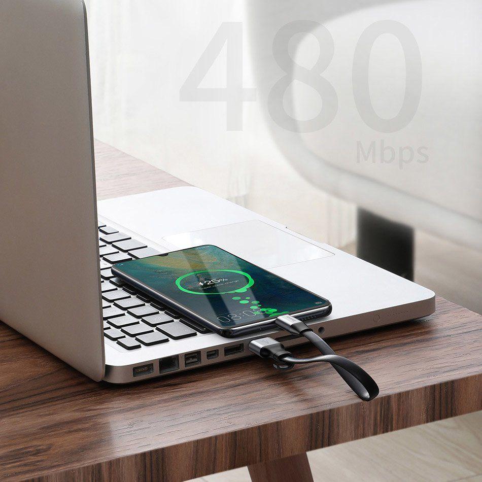 Cablu de date, incarcare, Baseus Simple SC5A  QC3.0 - 10