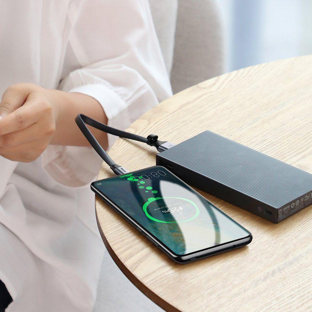 Cablu de date, incarcare, Baseus Simple SC5A  QC3.0 - 6