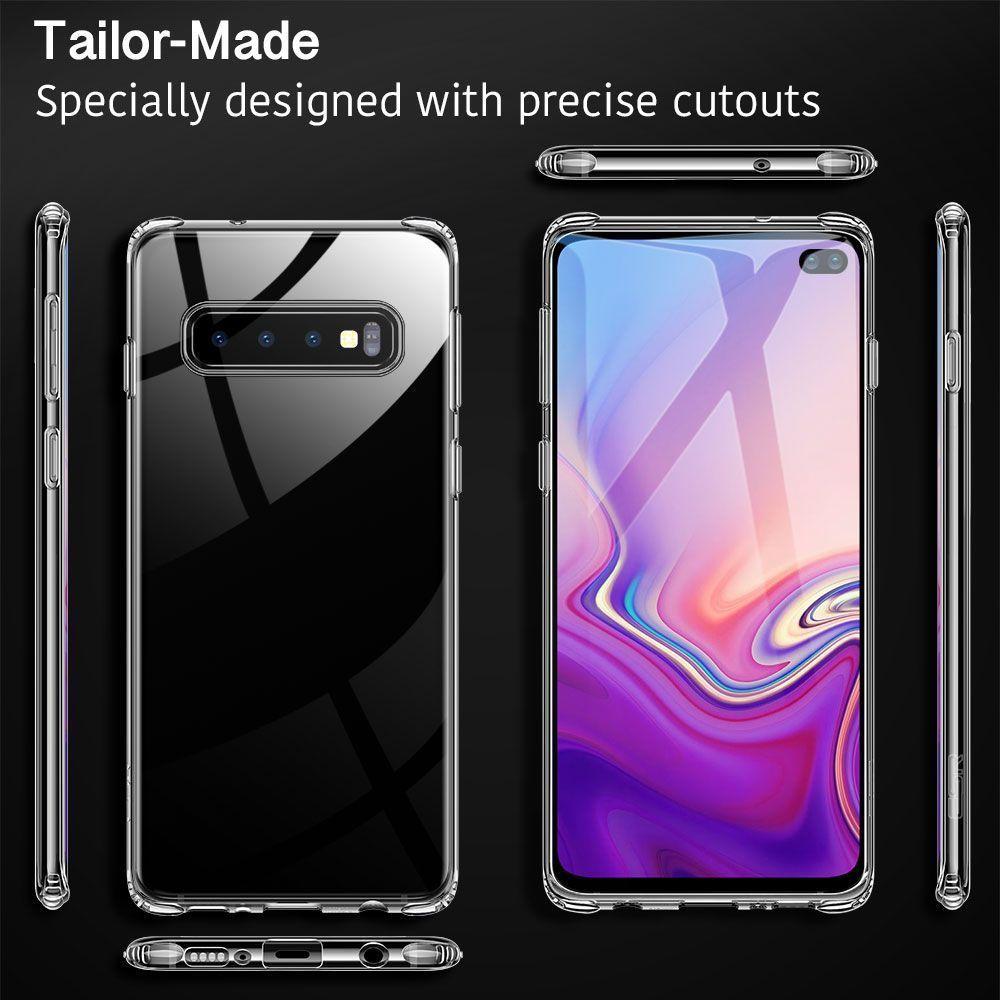 Husa de telefon, Esr Essential pentru Samsung S10+ Plus, Crystal Clear, Transparenta - 10