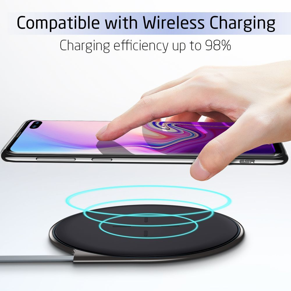 Husa de telefon, Esr Essential pentru Samsung S10+ Plus, Negru - 6