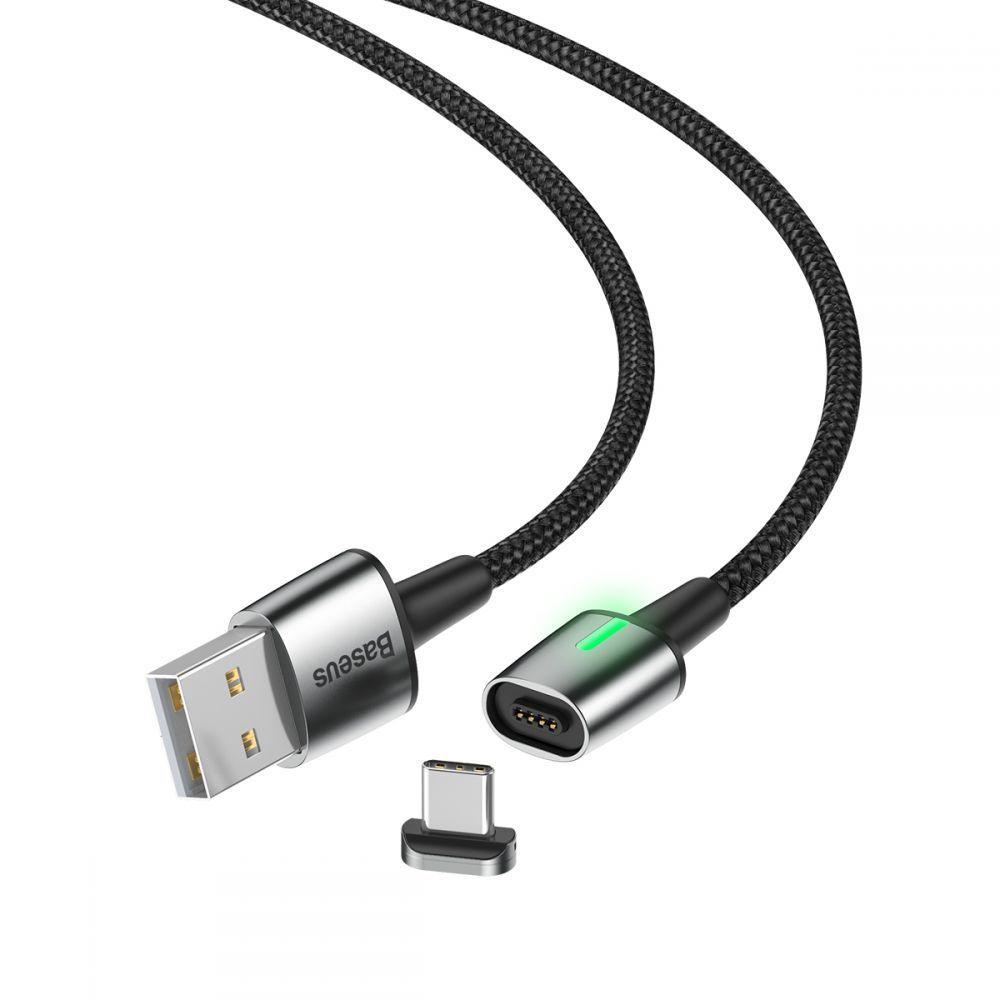 Cablu de date, incarcare, din zinc,magnetic, Baseus USB Type-C - 4