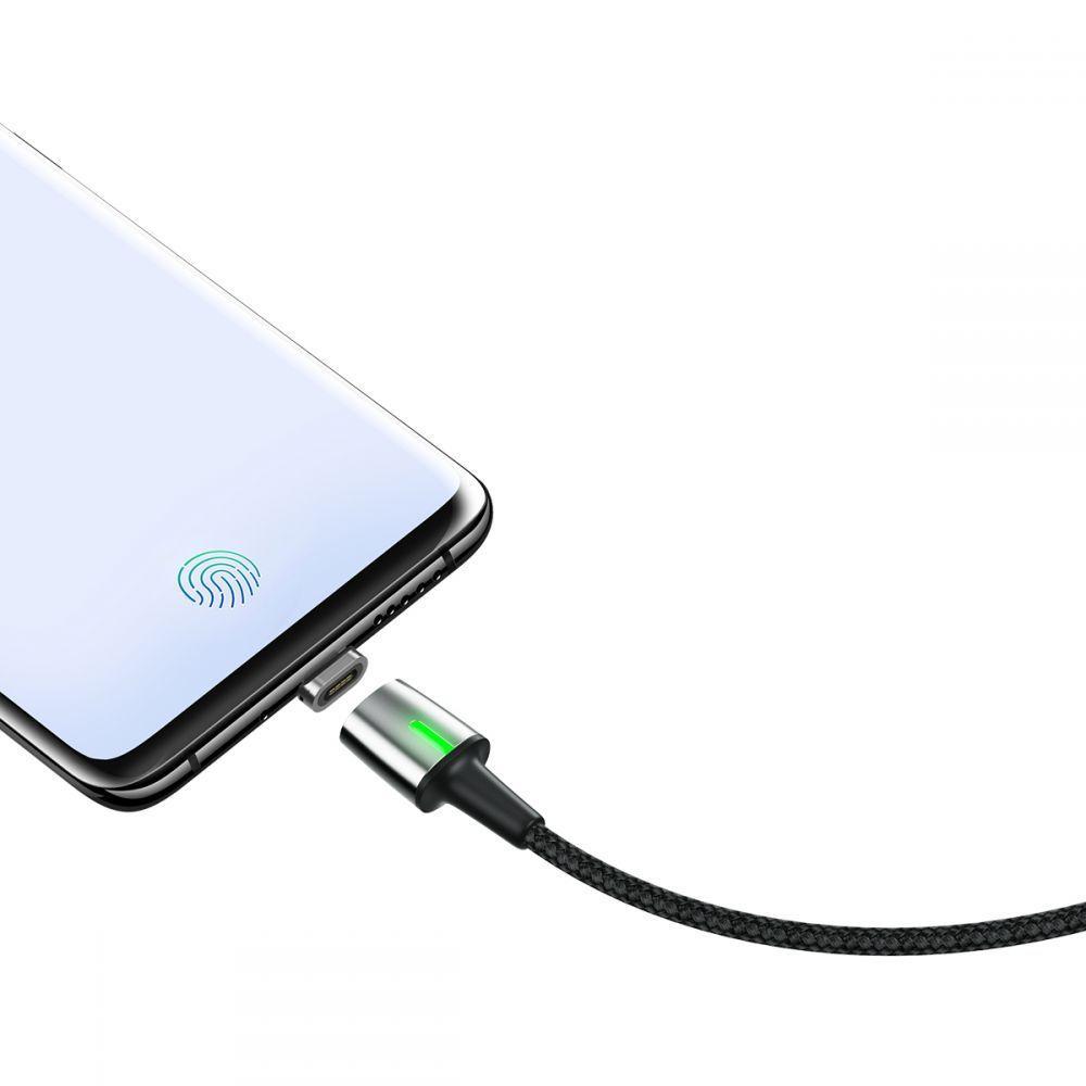 Cablu de date, incarcare, din zinc,magnetic, Baseus USB Type-C - 5