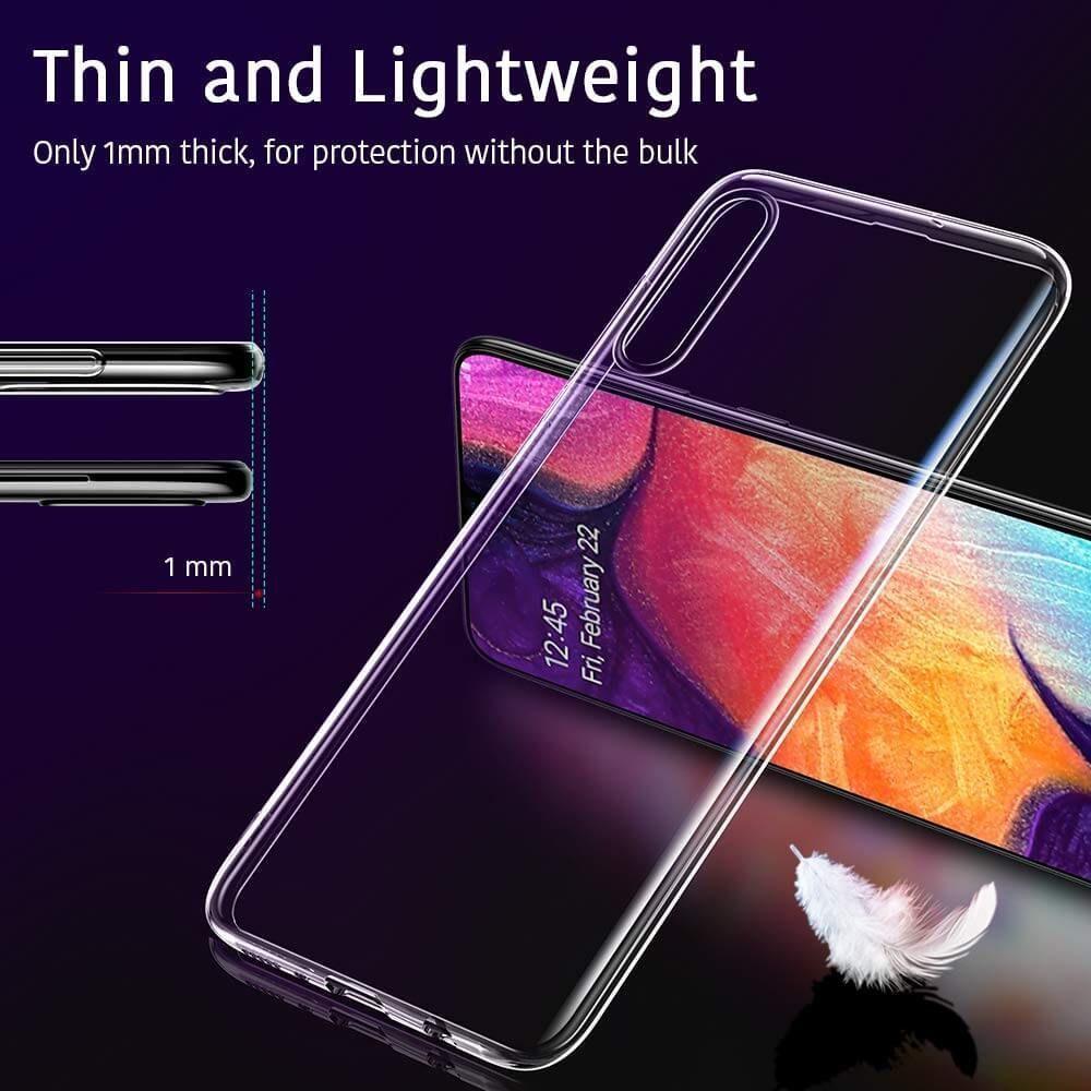 Husa Telefon Samsung A50, ESR Essential, Crystal Clear, Transparenta - 2
