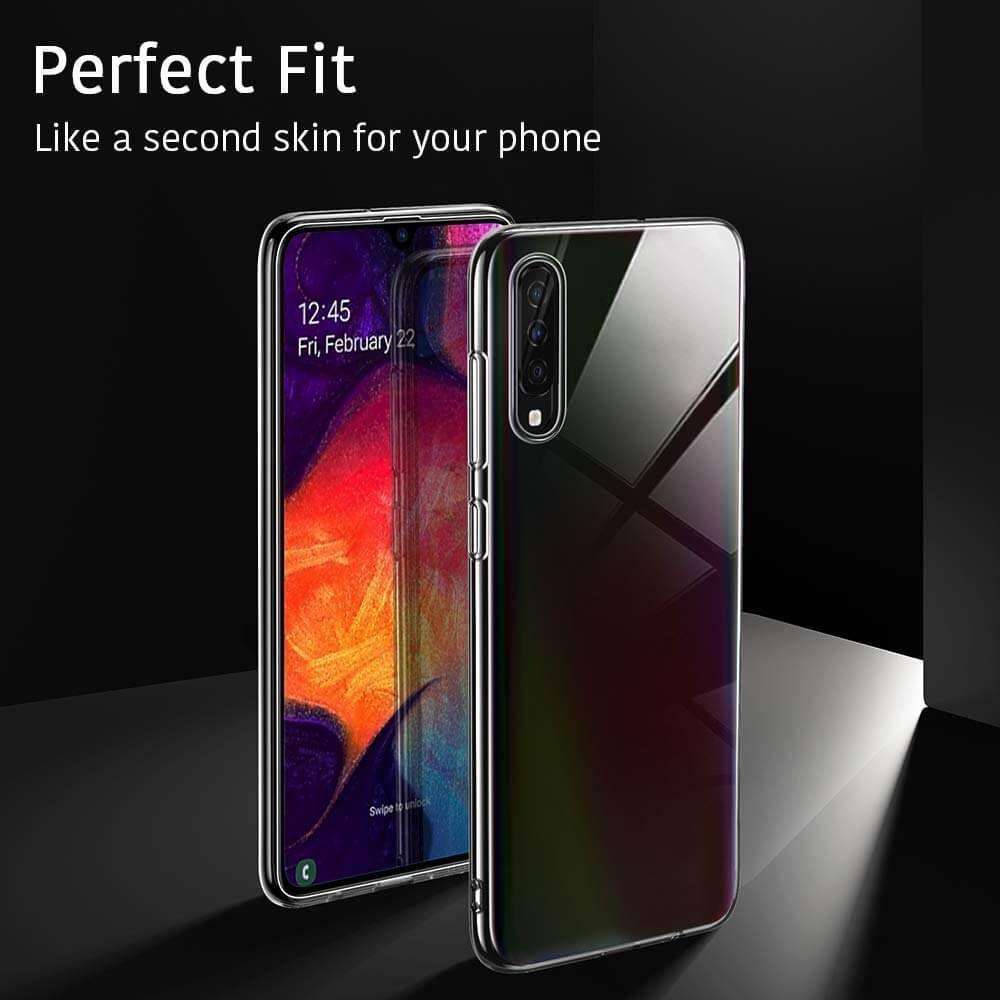 Husa Telefon Samsung A50, ESR Essential, Crystal Clear, Transparenta - 4
