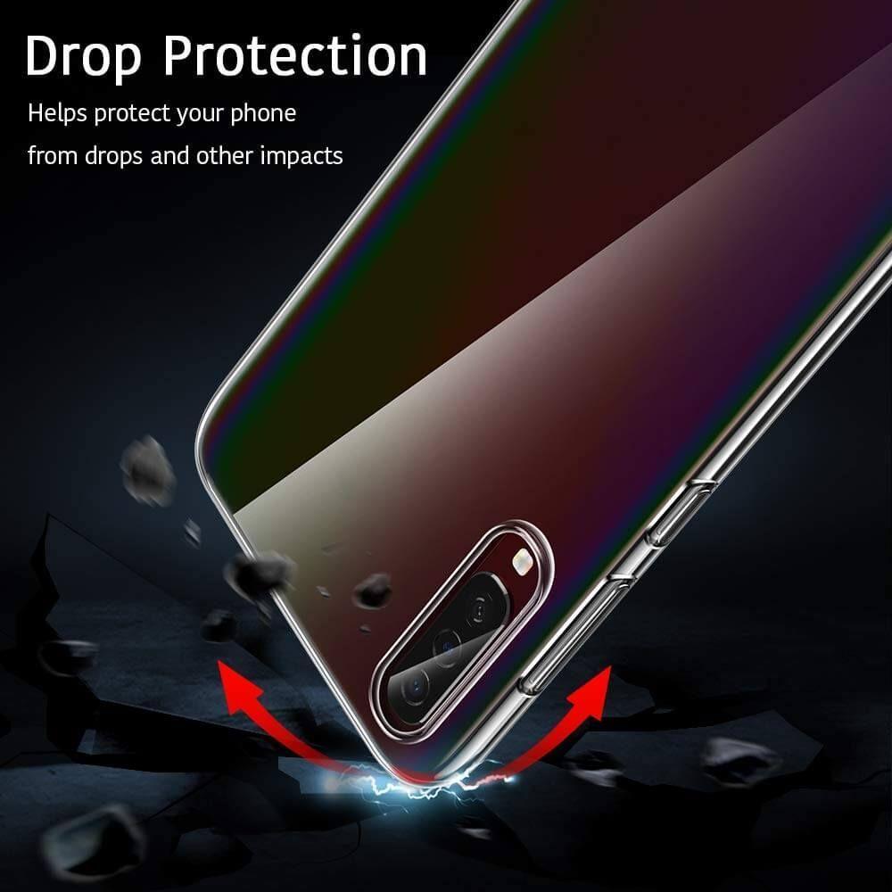 Husa Telefon Samsung A50, ESR Essential, Crystal Clear, Transparenta - 5