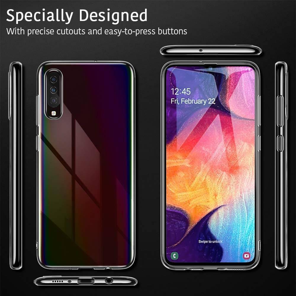 Husa Telefon Samsung A50, ESR Essential, Crystal Clear, Transparenta - 7