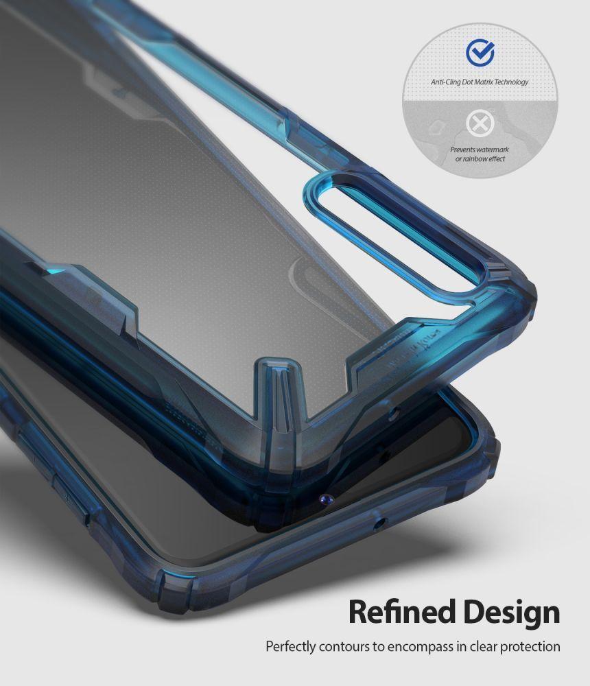 Husa Telefon Samsung A50, Ringke Fusion X, Space Blue - 3