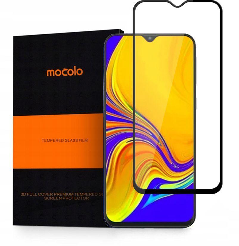 Folie Protectie Ecran pentru Samsung Galaxy A50, Mocolo TG+, Sticla securizata, Negru - 1