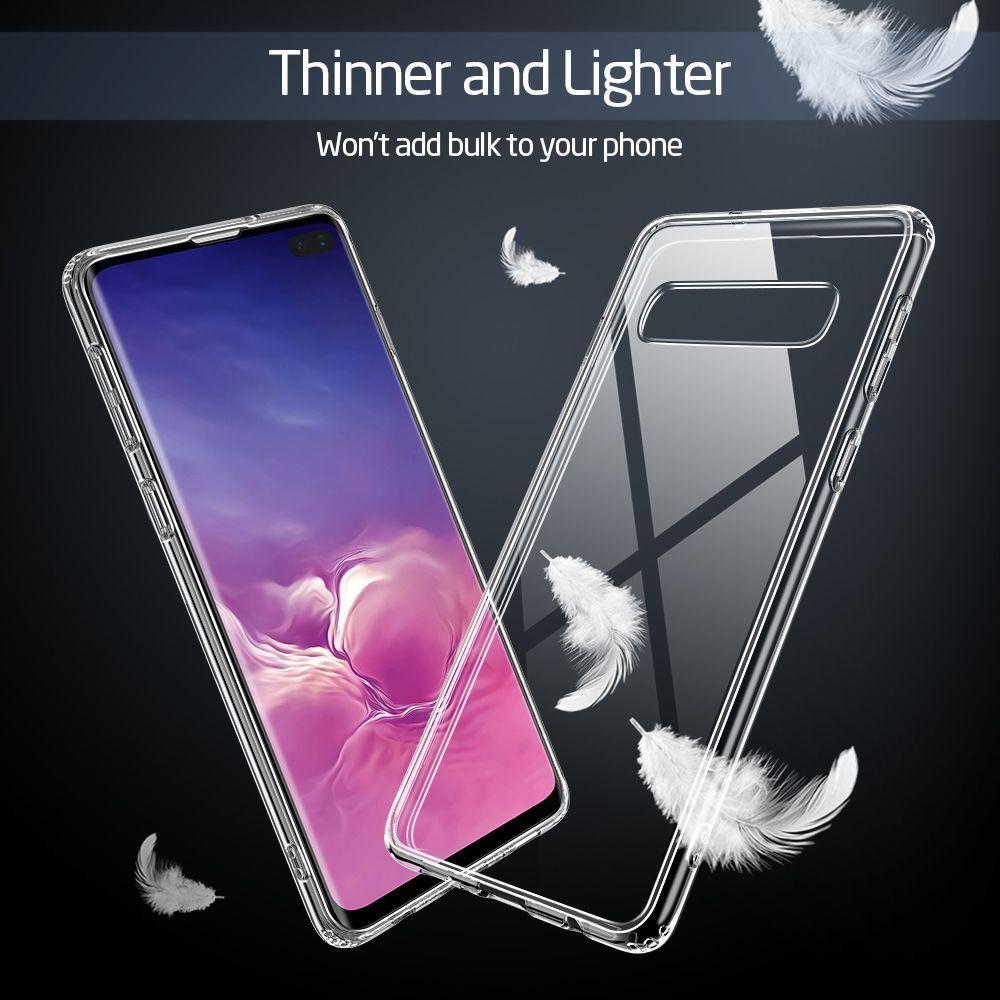 Husa Telefon Samsung S10+ Plus, ESR Mimic, Clear - 7