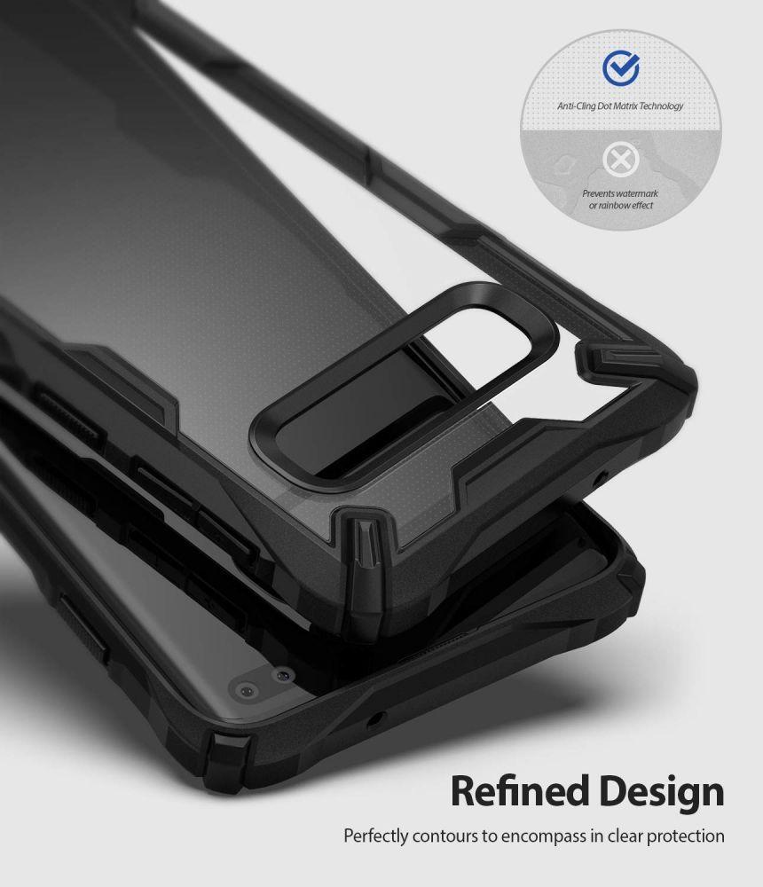 Husa Telefon Samsung S10+ Plus, Ringke Fusion X, Negru - 4