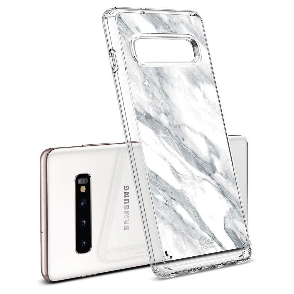 Husa Telefon Samsung S10+ Plus, Spigen Ciel, Marble - 1