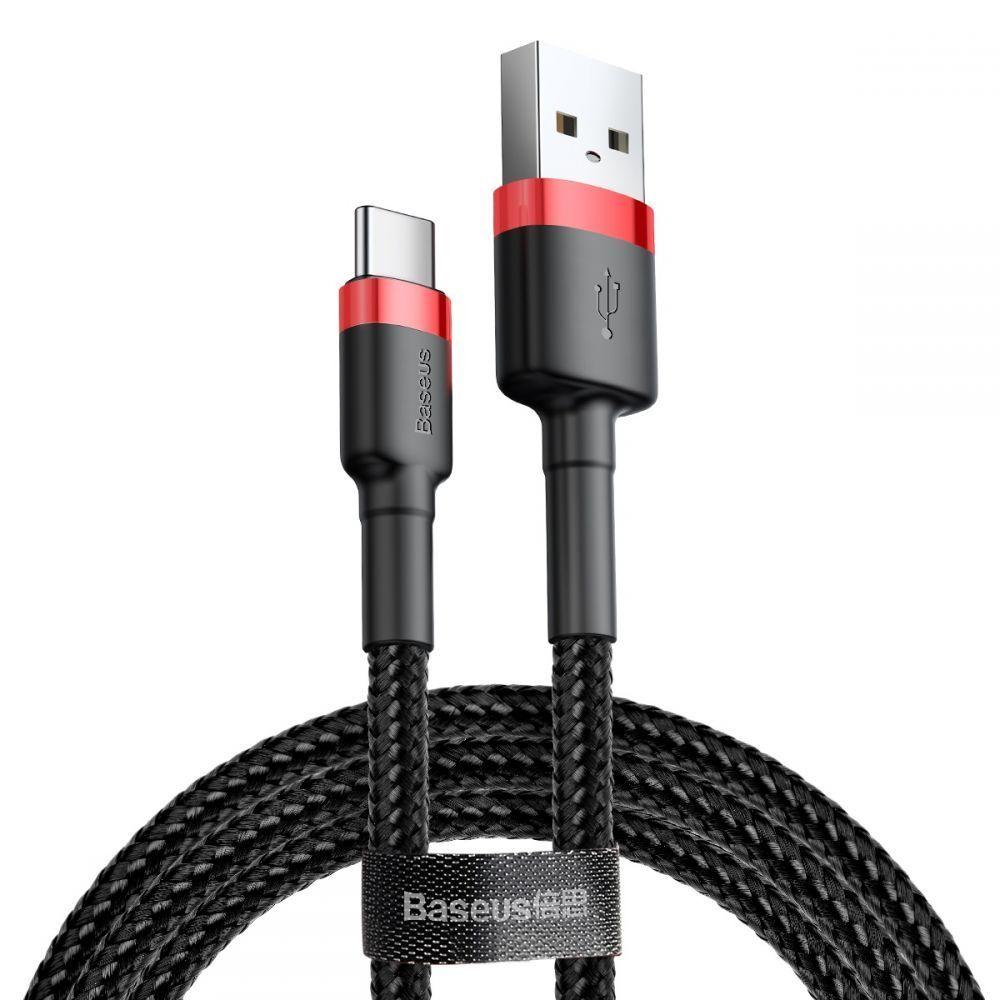 PrimeShop.ro - BASEUS CAFULE TYPE-C CABLE 200CM RED / BLACK