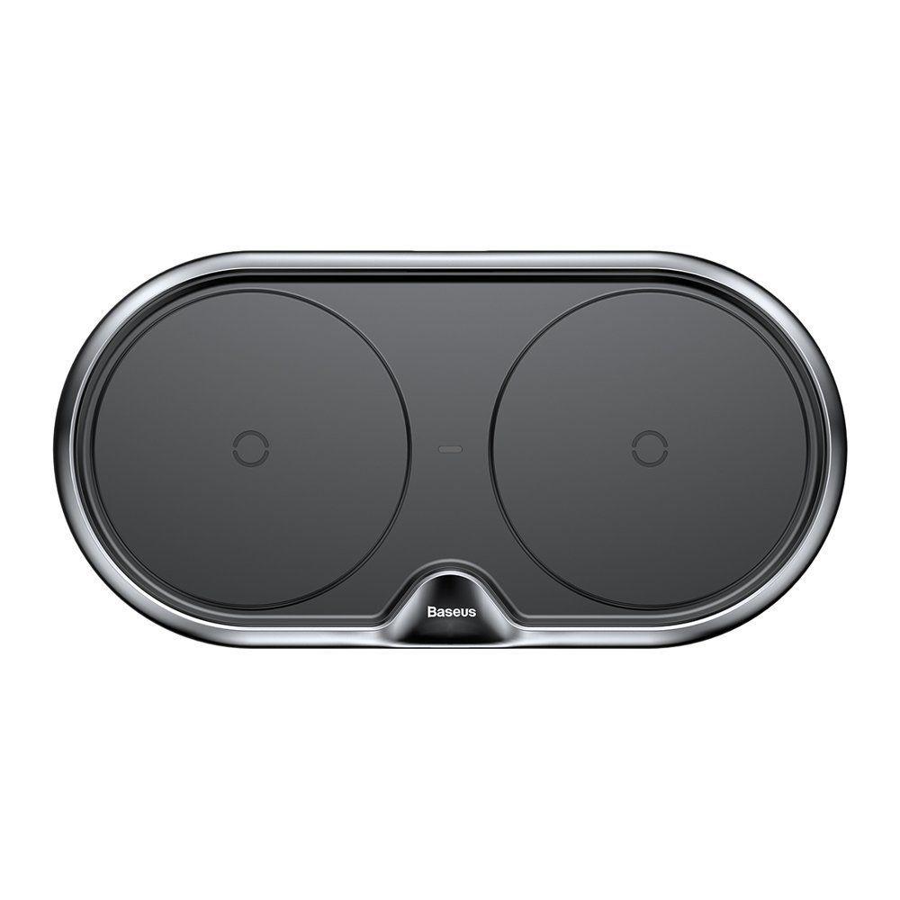 PrimeShop.ro - ÎNCĂRCĂTORUL fără fir fără bază BASEUS DUAL