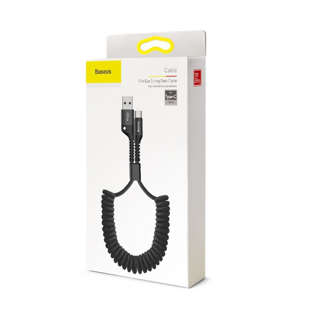 PrimeShop.ro - BASEUS FISH AYE TYPE-C CABLE 100CM BLACK
