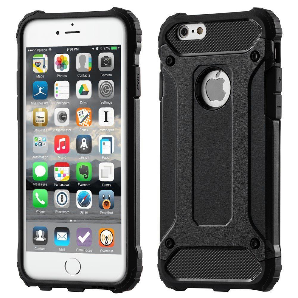 Husa Tpu Hybrid Armor pentru iPhone 7 , Neagra