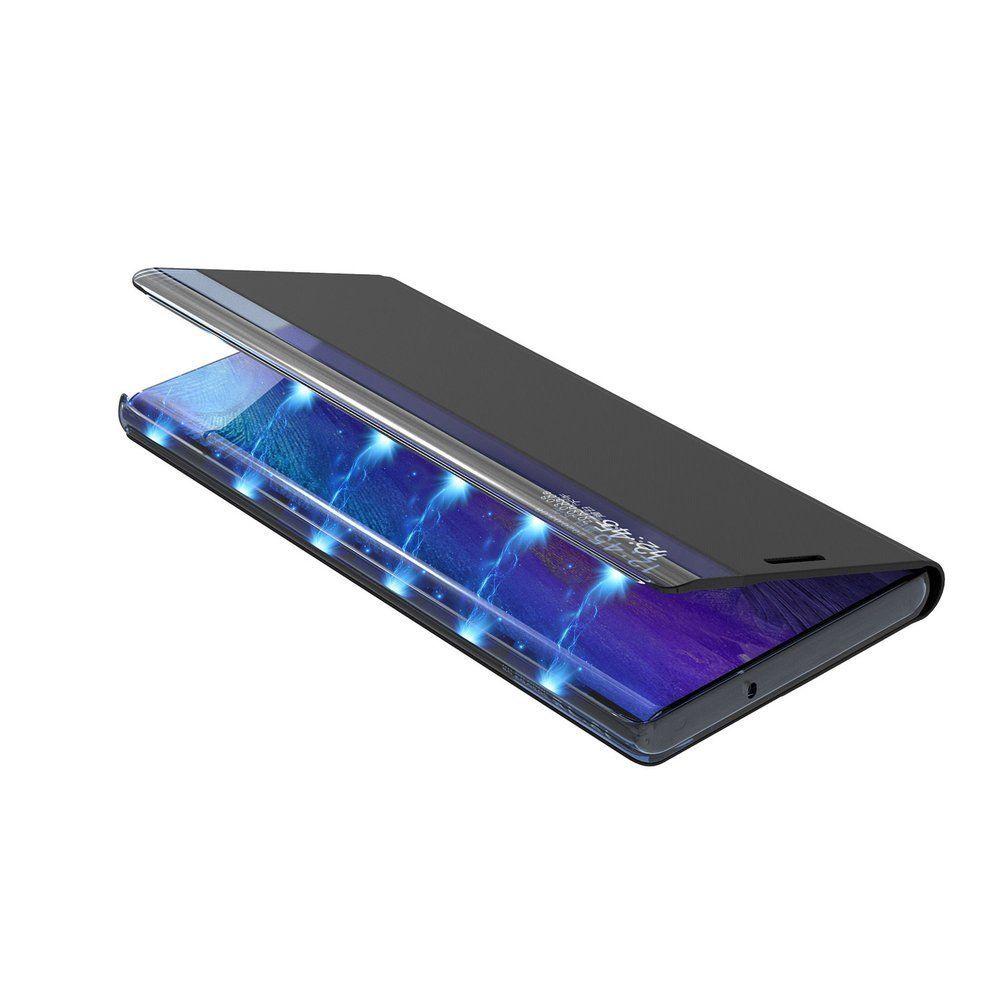 Husa Huawei Mate 20 Lite - Flip Tip Carte Smart View Stand