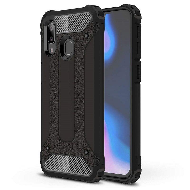 Husa Tpu Hybrid Armor pentru Samsung Galaxy A20 / Galaxy A30 , Neagra