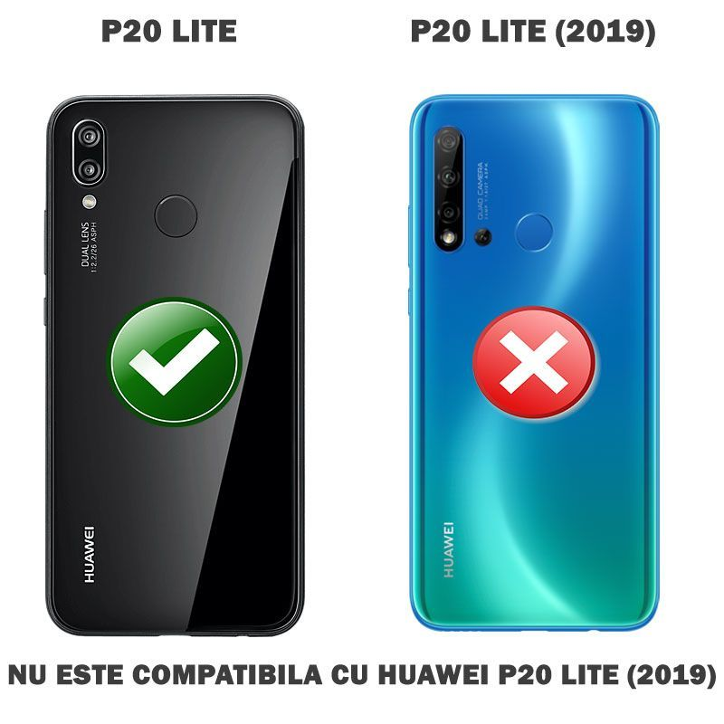 Nu este compatibila cu Huawei P20 Lite 2019