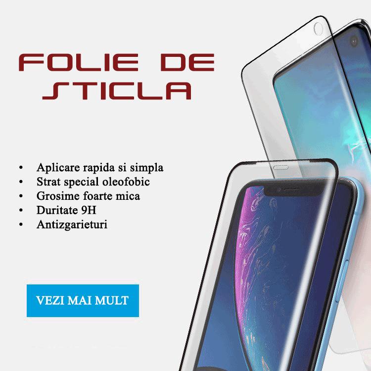 Folie de sticla securizata pentru telefoane