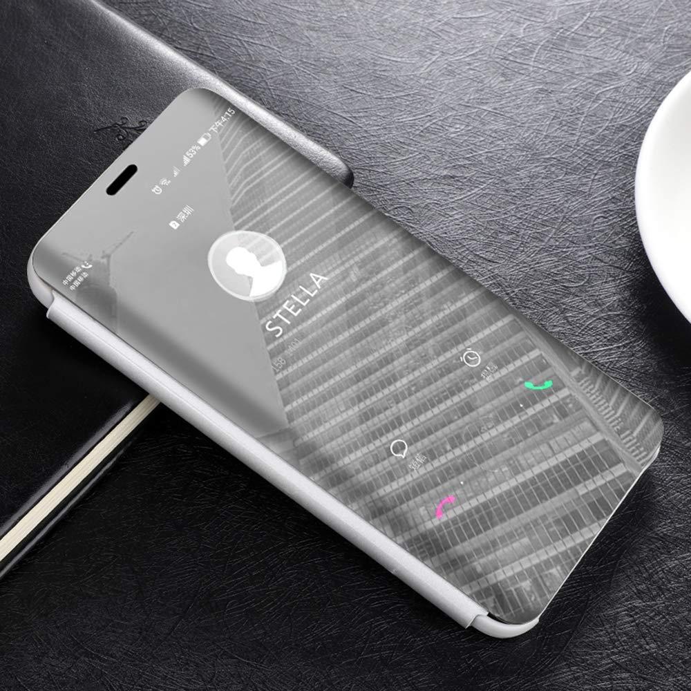 husa-flip-mirror-capac-transparent-mate-20-lite