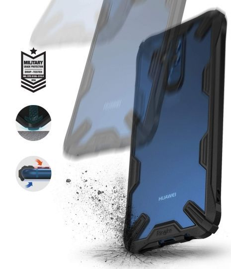PrimeShop.ro - RINGKE FUSION X HUAWEI MATE 20 LITE BLACK