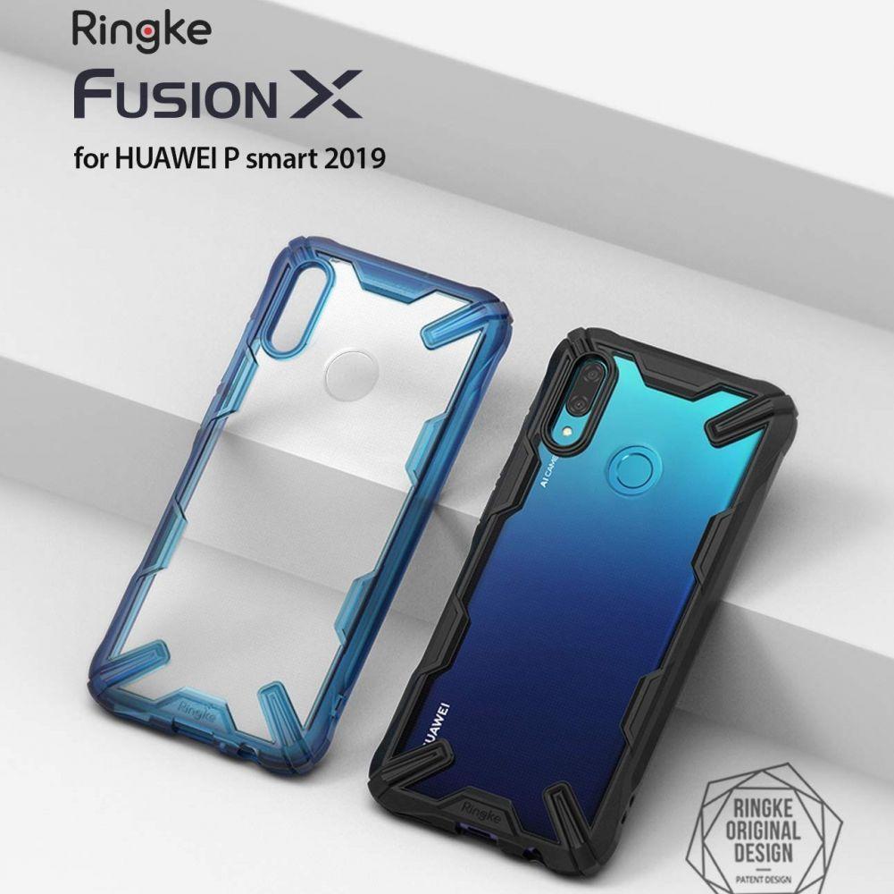 PrimeShop.ro - RINGKE FUSION X HUAWEI P SMART 2019 NEGRU