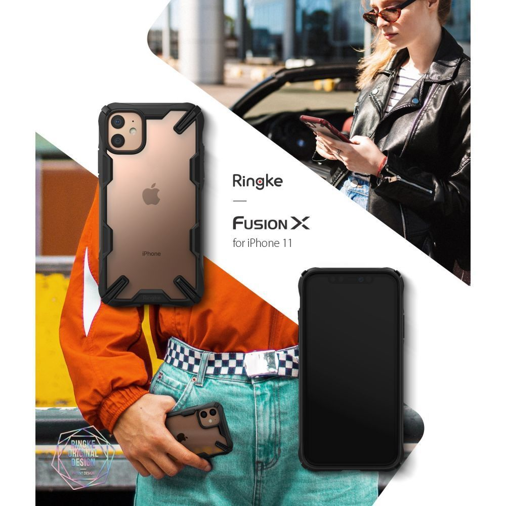 PrimeShop.ro - RINGKE FUSION X IPHONE 11 NEGRU