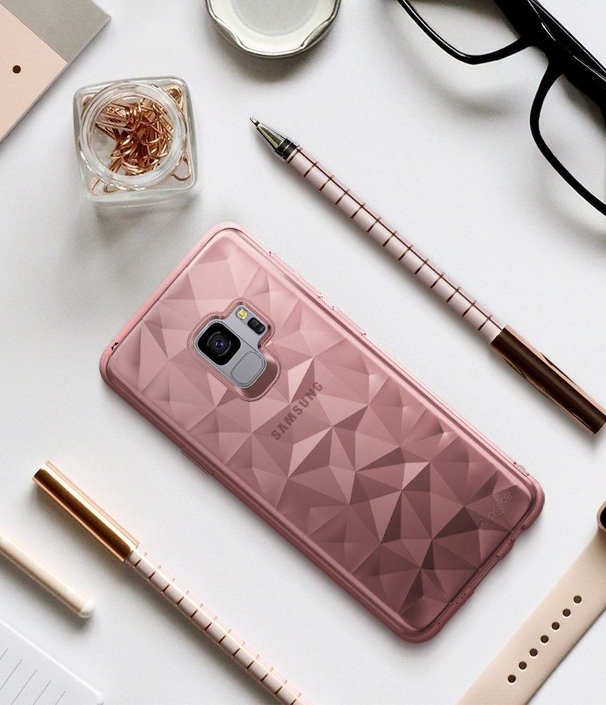 PrimeShop.ro - RINGKE PRISM AIR GALAXY S9 ROSE GOLD