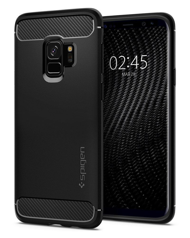 PrimeShop.ro - ARMOR GALBENE S9 RUGGED ARMOR S9 MATTE BLACK
